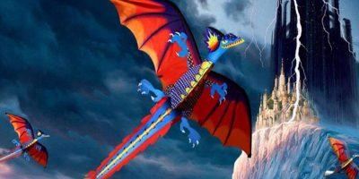 Cometa con forma de dragón